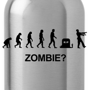 Darwin Evolution and zombie - Water Bottle