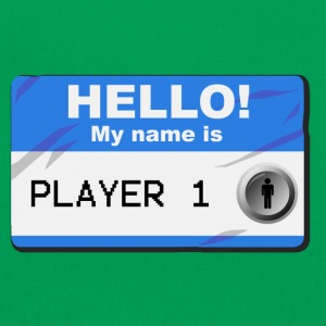 My name is player 1 - Retro-tas