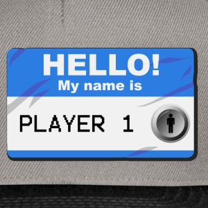 My name is player 1 - Snapback cap