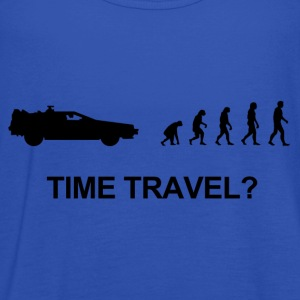 Darwin evolution of time travel Back to the future - Frauen Tank Top von Bella
