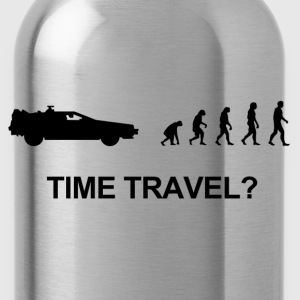 Darwin evolution of time travel Back to the future - Trinkflasche