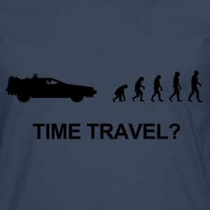 Darwin evolution of time travel Back to the future - Männer Premium Langarmshirt