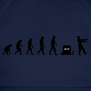 Darwin Evolution and zombies - Baseballcap