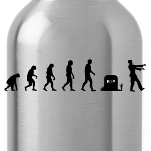 Darwin Evolution and zombies - Water Bottle