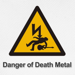 Danger of death metal - Baseballkappe