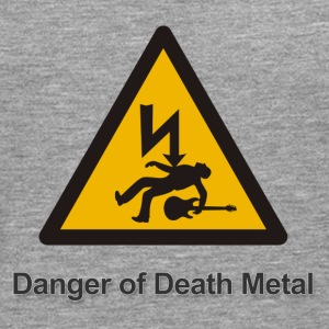 Danger of death metal - Mannen Premium shirt met lange mouwen