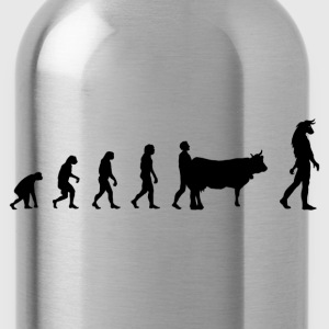 Darwin Evolution and minotaur - Drinkfles
