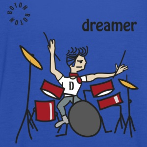 Drums Dreamer Shirts - Women's Tank Top by Bella