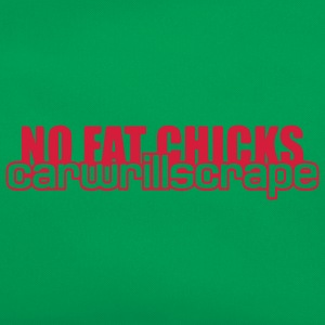NO FAT CHICKS T-shirts - Retro taske