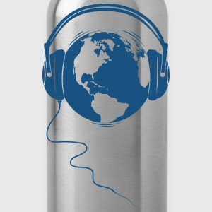 Sun yellow Planet Audio T-Shirts - Water Bottle