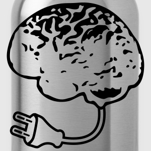 Brain Plug T-Shirts - Water Bottle