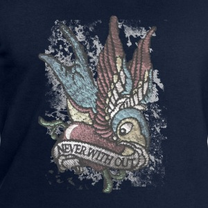 Tattoo Bird Vintage Distressed patjila T-Shirts - Men's Sweatshirt by Stanley & Stella