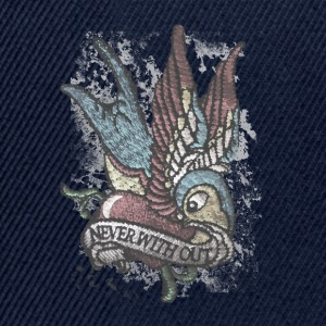 Tattoo Bird Vintage Distressed patjila T-Shirts - Snapback Cap