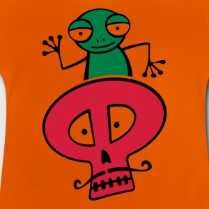 Salamanca Frog with the Skull - Baby T-Shirt