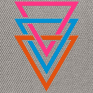 three triangles Tee shirts - Casquette snapback