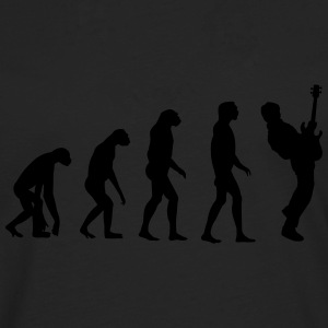 bass player evolution T-Shirts - Men's Premium Longsleeve Shirt