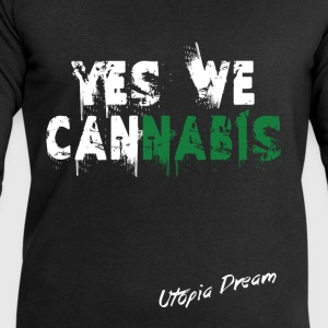 yes we cannabis (w).png Tee shirts - Sweat-shirt Homme Stanley & Stella