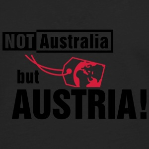 Not Australia but Austria Tee shirts - T-shirt manches longues Premium Homme