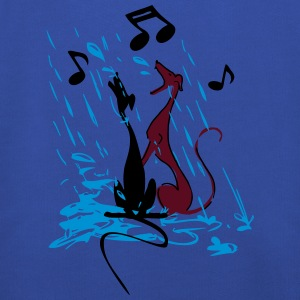 singing_in_the_rain T-Shirts - Kinder Premium Hoodie