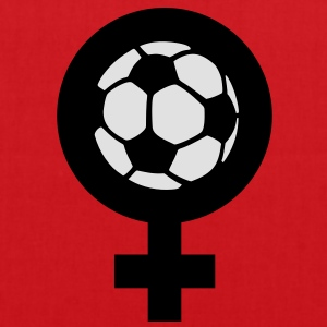 Le football féminin Tee shirts - Tote Bag