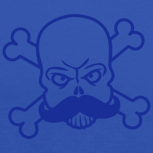 Mustache Pirate Skull T-shirts - Dame tanktop fra Bella