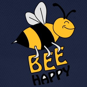 Bee Happy Camisetas - Gorra béisbol
