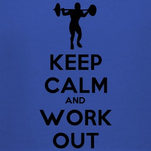 keep_calm_and_workout T-skjorter - Premium Barne-hettegenser
