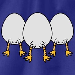 Chick In Egg Crew T-shirts - Gymnastikpåse