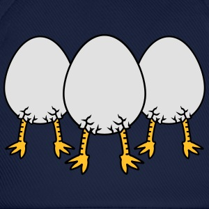 Chick In Egg Crew T-shirts - Basebollkeps