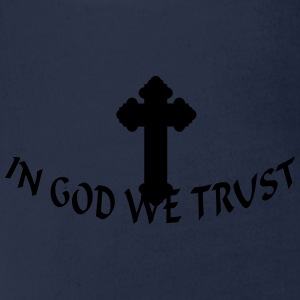 In God we trust (1c) Shirts - Organic Short-sleeved Baby Bodysuit