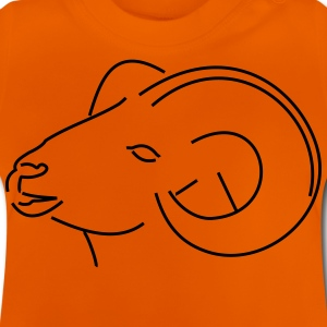 Rams head viewed from the side - Baby T-Shirt