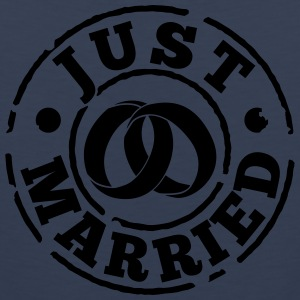 just_married T-Shirts - Men's Premium Tank Top