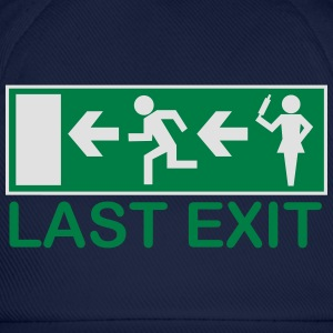 husband escape - last exit T-Shirts - Baseball Cap