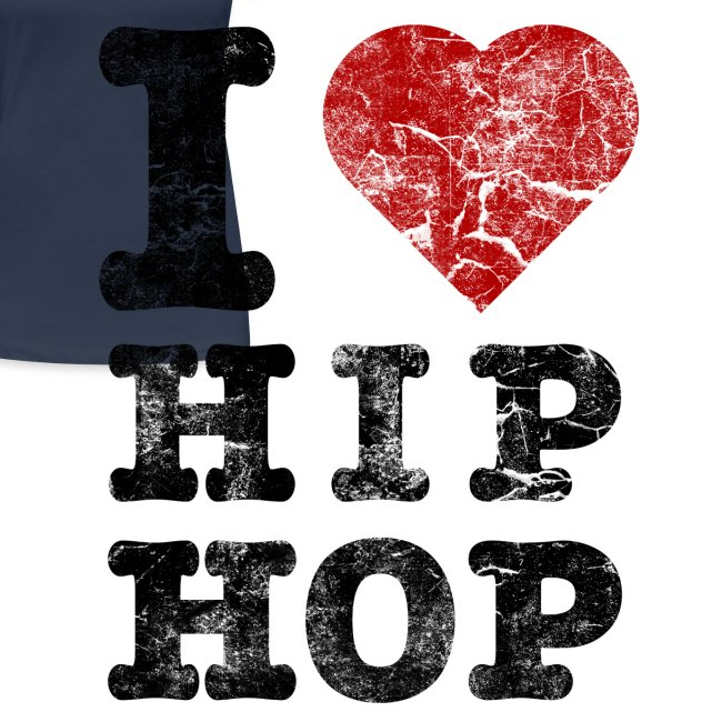 T-Shirt I Love HipHop