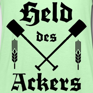 Held des Ackers Spaten T-Shirts - Frauen Tank Top von Bella