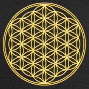 FEEL THE ENERGY, Flower of Life, Gold, Sacred Geometry, Protection Symbol, Harmony, Balance Pullover - Männer Sweatshirt von Stanley & Stella