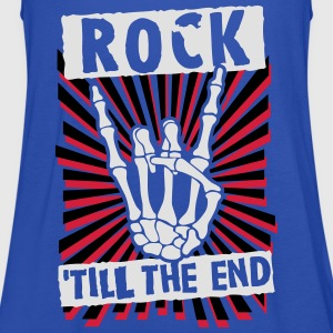 rock 'till the end Shirts - Women's Tank Top by Bella