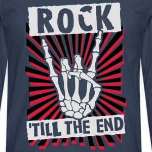 rock 'till the end Shirts - Men's Premium Longsleeve Shirt