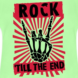 rock 'till the end T-shirts - Baby-T-shirt