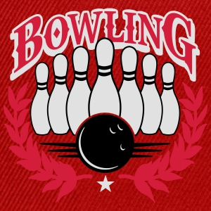 bowling Tee shirts - Casquette snapback