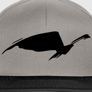 abstract bird - Snapback Cap