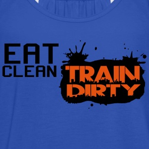 Eat clean - train dirty T-Shirts - Women's Tank Top by Bella