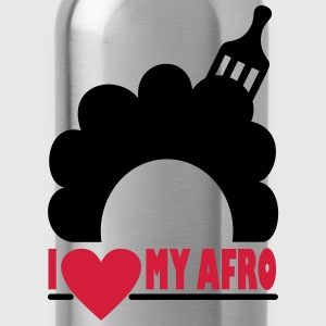 I Love My Afro T-Shirts - Water Bottle