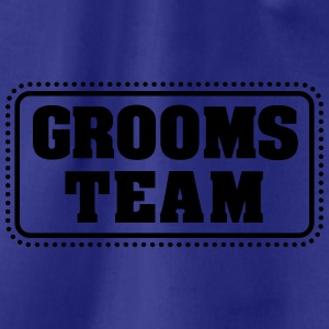 Grooms team (1c) T-Shirts - Turnbeutel