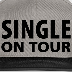 Gräsgrön Single on tour T-shirt - Snapbackkeps