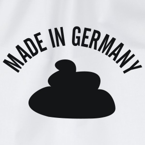 Ash (graumeliert) Made in Germany T-Shirt - Turnbeutel
