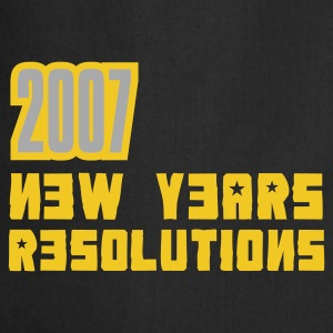 Braun 2007 Resolutions T-Shirt - Kochschürze