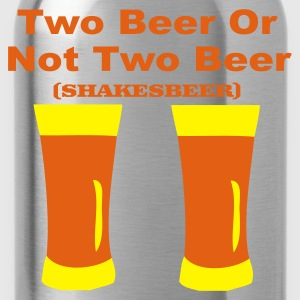 Rood two beer T-shirts - Drinkfles