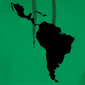 Grass green Latin America - South America T-Shirts - Men's Premium Hoodie
