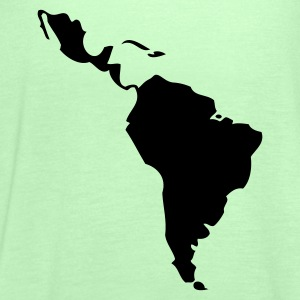 Grass green Latin America - South America T-Shirts - Women's Tank Top by Bella